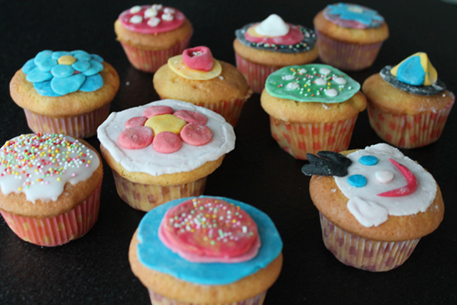 cupcake papiertjes hema