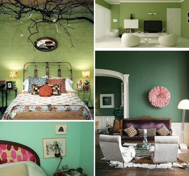 Groene Keuken Muur : groene-muur