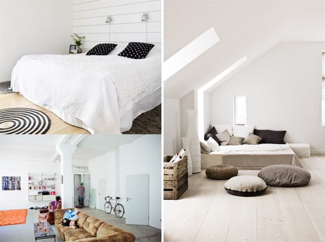 Kleurenpsychologie welke kleur moet ik mijn muur geven - Witte muur kamer ...