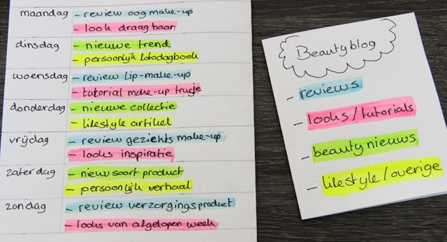 beautyblog-week-contentkalender