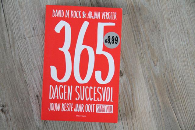 inspirerend boek: 365 dagen succesvol - lisanneleeft.nl