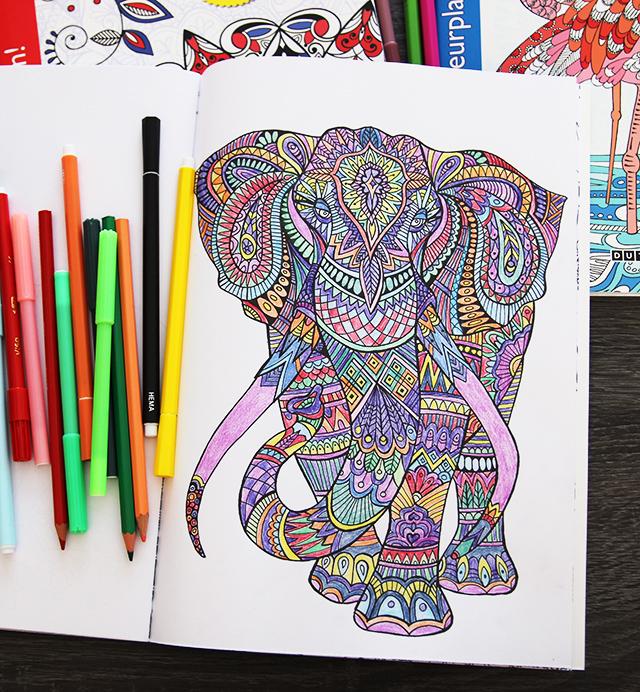 Grote Kleurplaten Voor Volwassenen.Budget Kleurboeken Voor Volwassenen 1 Lisanne Leeft