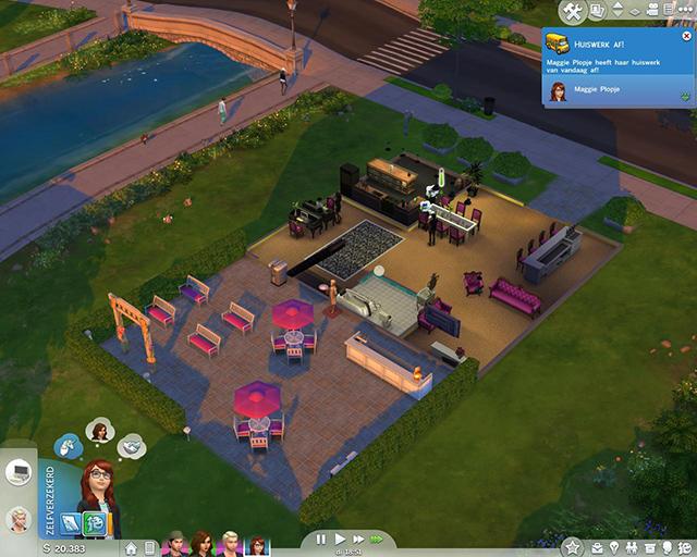 Sims 4 review eerste indruk voor en nadelen for Huis bouwen inspiratie