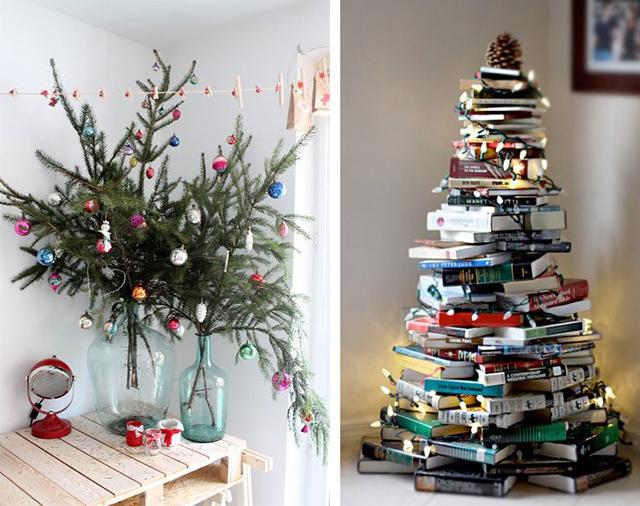 12 Bijzondere Kerstbomen Voor Wanneer Je Weinig Ruimte Hebt