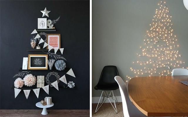 12 Bijzondere kerstbomen voor wanneer je weinig ruimte hebt ...
