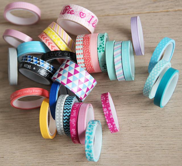 washi tape kerst