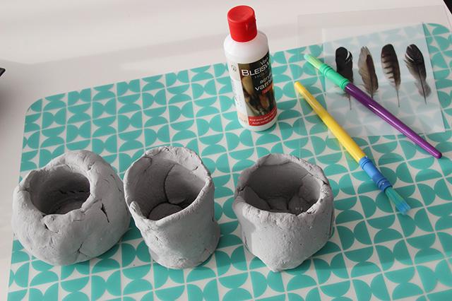 diy met modelling clay van de action lisanne leeft. Black Bedroom Furniture Sets. Home Design Ideas