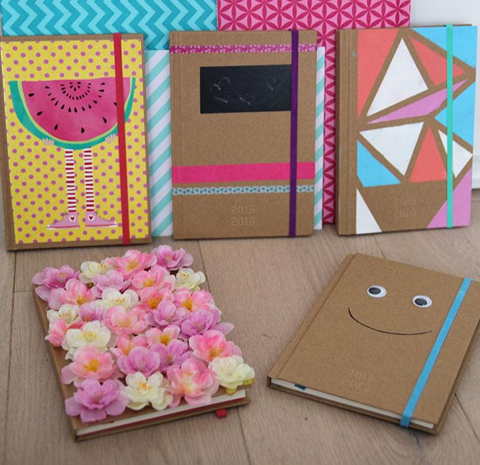 5x diy agenda 39 s back to school lisanne leeft - Hoe je een tiener van kamer te versieren ...