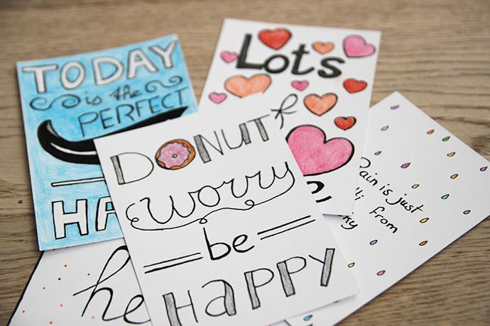 Handlettering-creaties