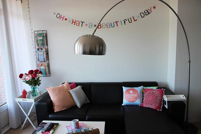 Mijn woonkamer upgrade! Voor & na | Lisanne Leeft