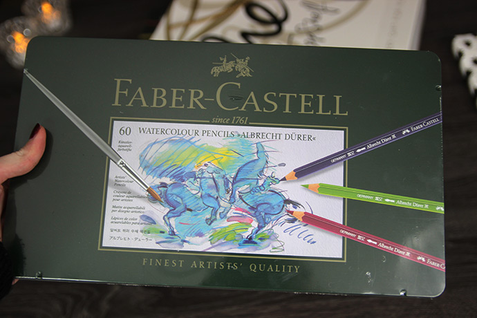 Faber Castell watercolour aquarelpotloden